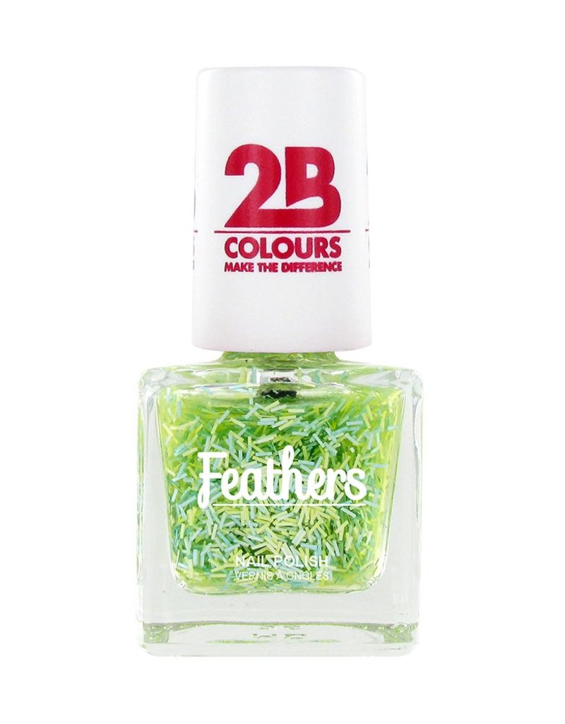 2B Cosmetics Vernis à ongles Feathers 612 Green