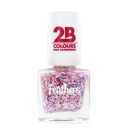 2B Cosmetics Nail polish Feathers 613 Violet