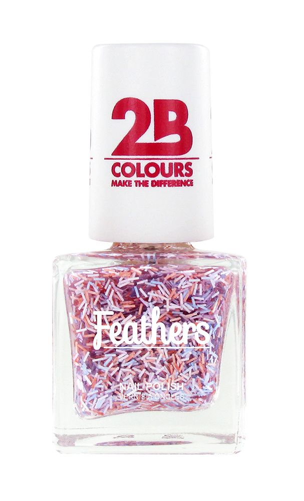 2B Cosmetics Nail polish Feathers 613 Violet