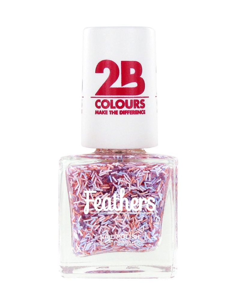 2B Cosmetics Nagellak Feathers 613 Violet