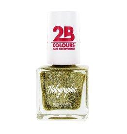 2B Cosmetics Nagellak Holographic 608 Gold