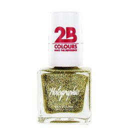 2B Cosmetics Nail polish Holographic 608 Gold