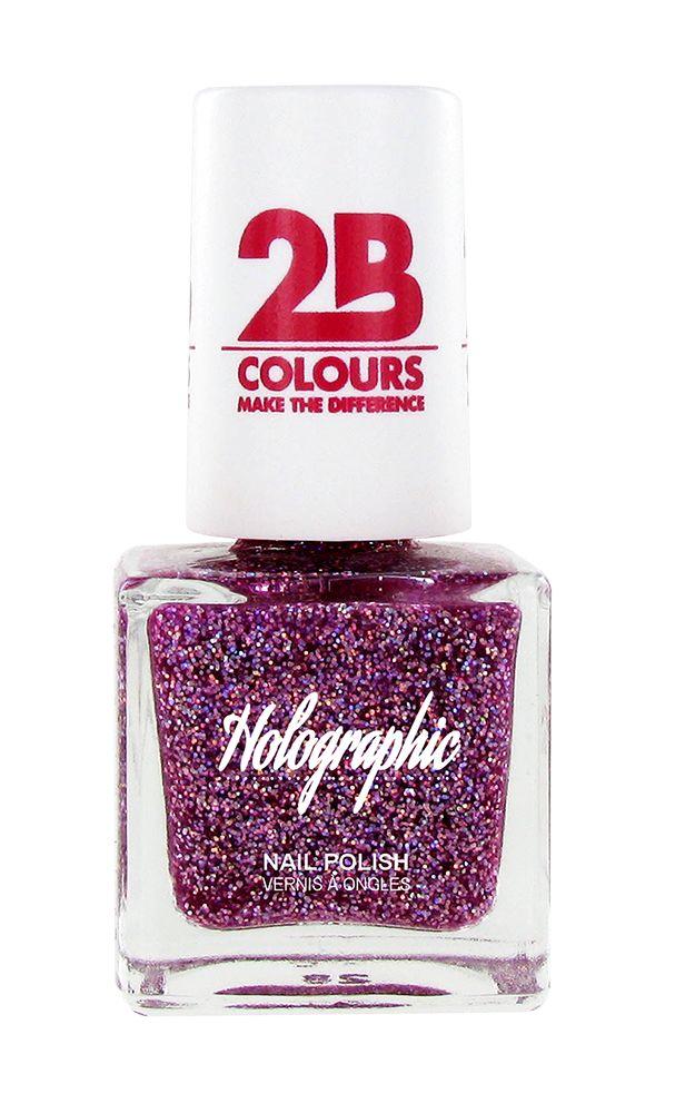 2B Cosmetics Nagellak Holographic 609 Violet