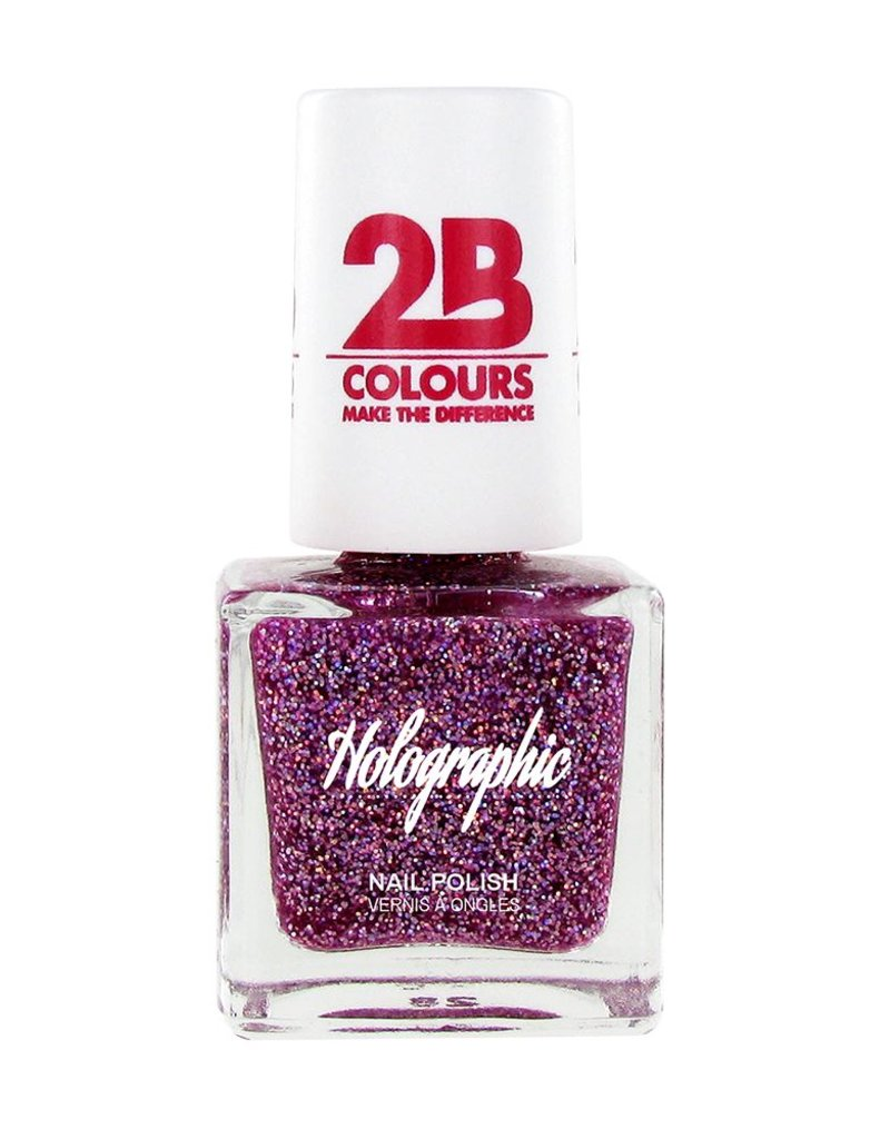 2B Cosmetics Vernis à ongles Holographic 609 Violet