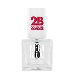 2B Cosmetics Nagellak Mega Colours 601 Transparant