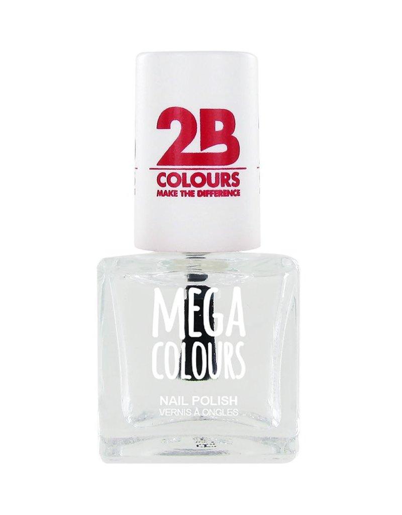 2B Cosmetics Vernis à ongles Mega Colours 601 Transparant