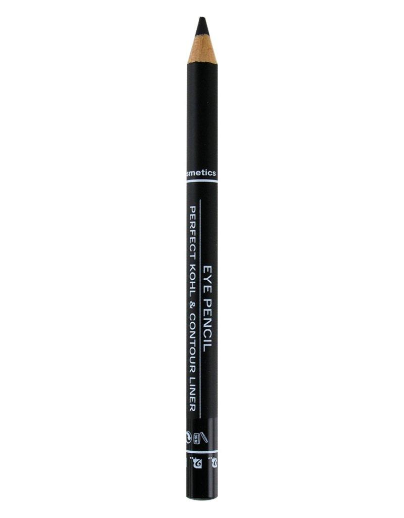 2B Cosmetics Eye pencil long lasting 01 black