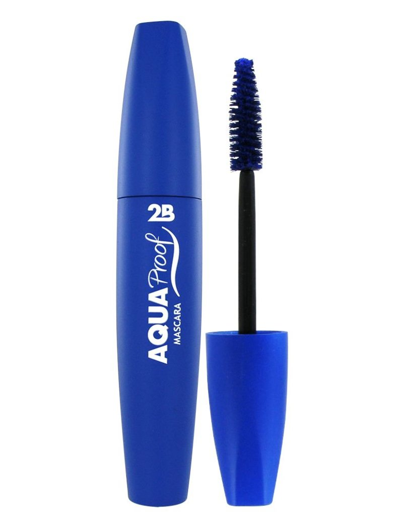 2B Cosmetics Mascara Aqua Proof 03 China blue