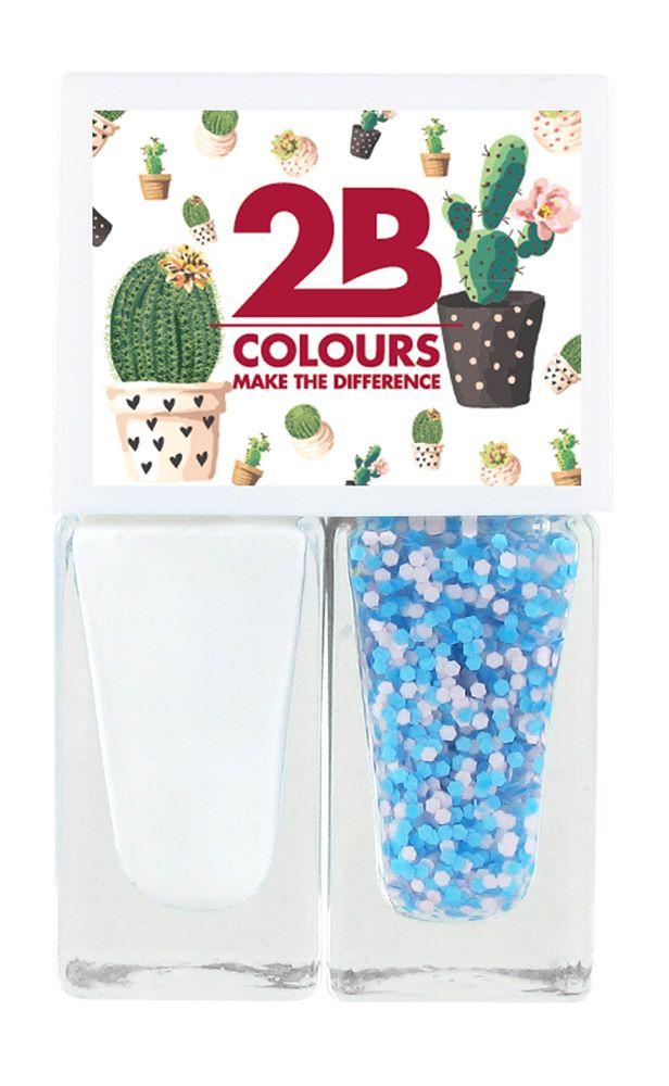 2B Cosmetics Nagellak Duo - Spring/Summer 01