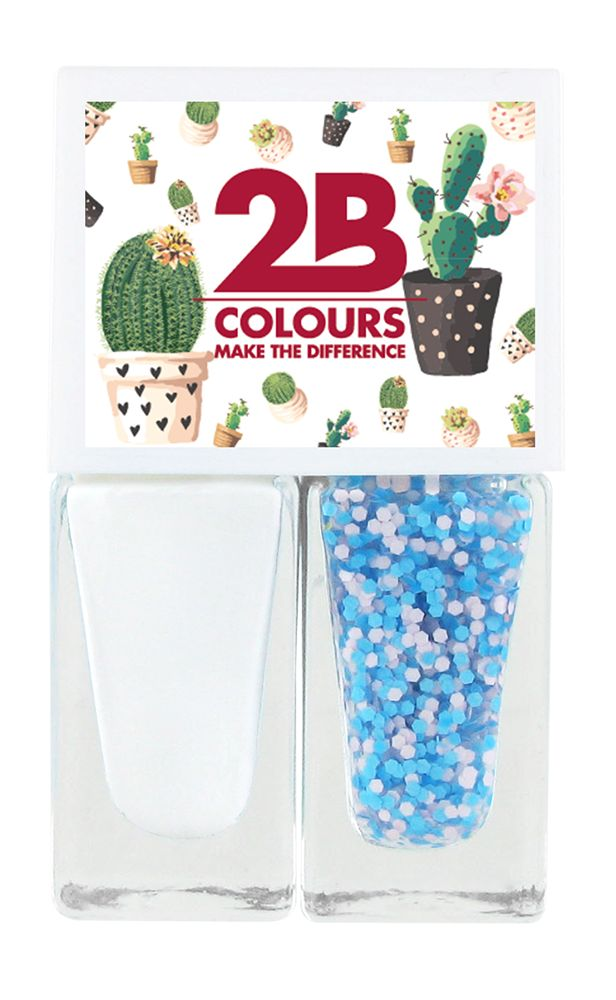 2B Cosmetics Vernis à Ongles Duo - Spring/Summer 01