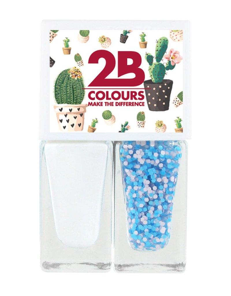 2B Cosmetics Nail polish Duo - Spring/Summer 01