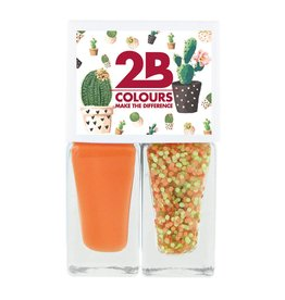 2B Cosmetics Nail polish Duo - Spring/Summer 02