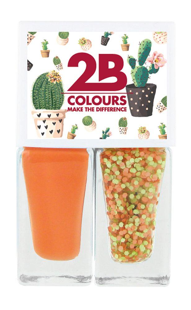 2B Cosmetics Nail polish Duo - Spring/Summer 02