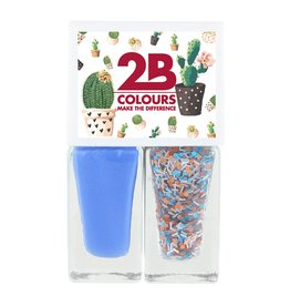 2B Cosmetics Vernis à Ongles Duo - Spring/Summer 03