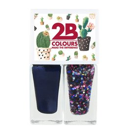 2B Cosmetics Nail polish Duo - Spring/Summer 04