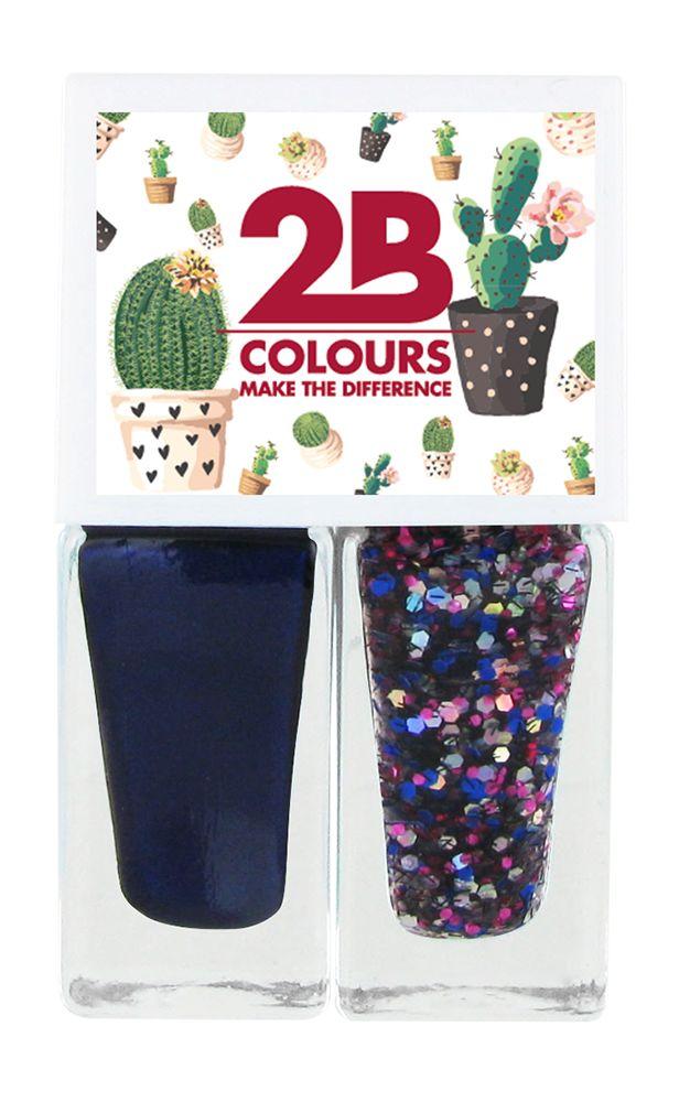 2B Cosmetics Nail polish Duo - Spring/Summer 04