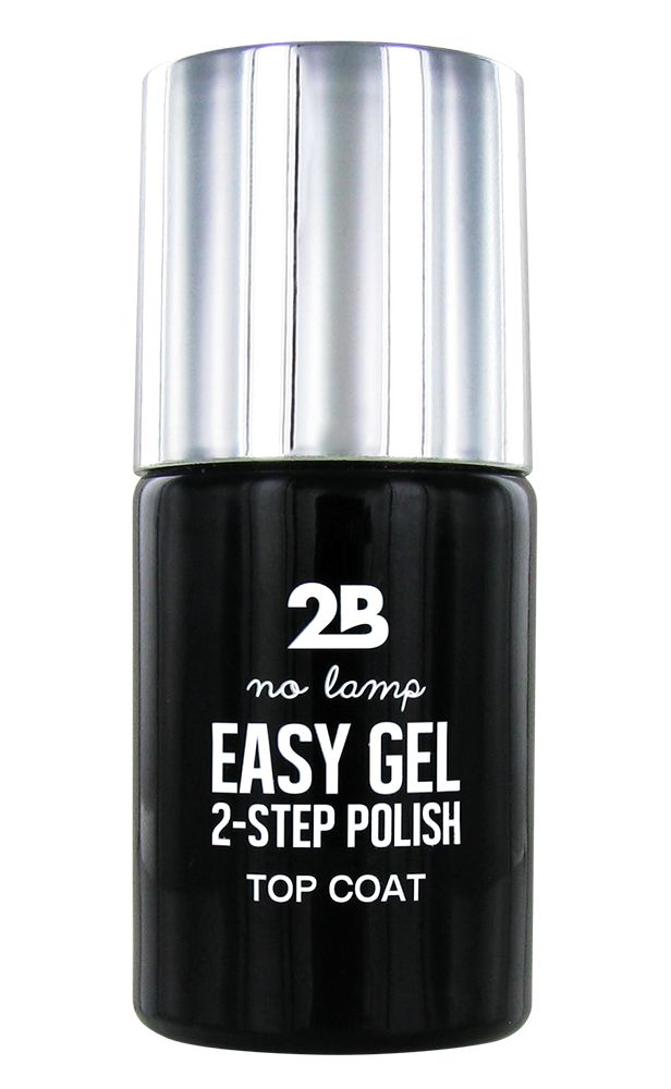 2B Cosmetics Easy gel 2 step polish - Top coat
