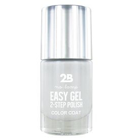2B Cosmetics Easy gel 2 step polish - Soft White