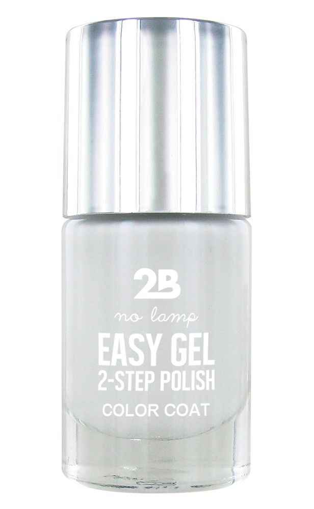 2B Cosmetics Easy gel 2 step polish - Soft White
