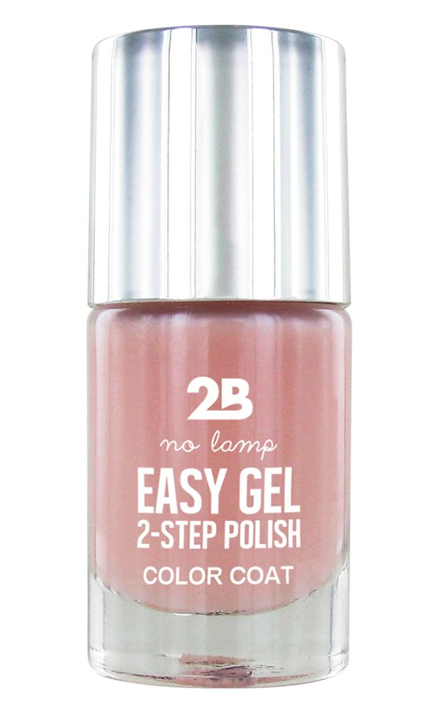 2B Cosmetics Easy gel 2 step polish - Nude Pink