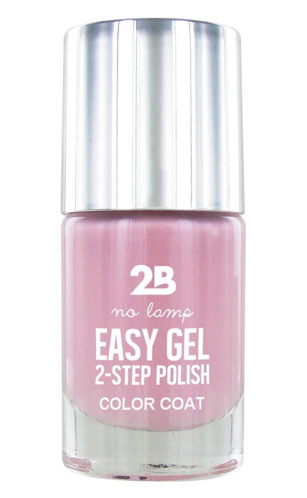 2B Cosmetics Easy gel 2 step polish - Fairytale Pink
