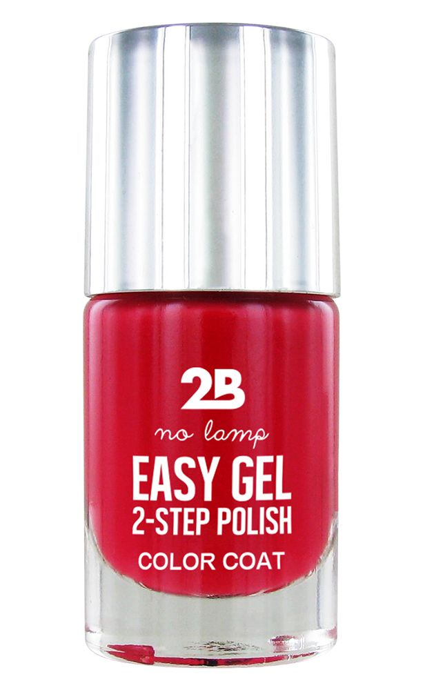 2B Cosmetics Easy gel 2 step polish - Berry Berry Fuchsia