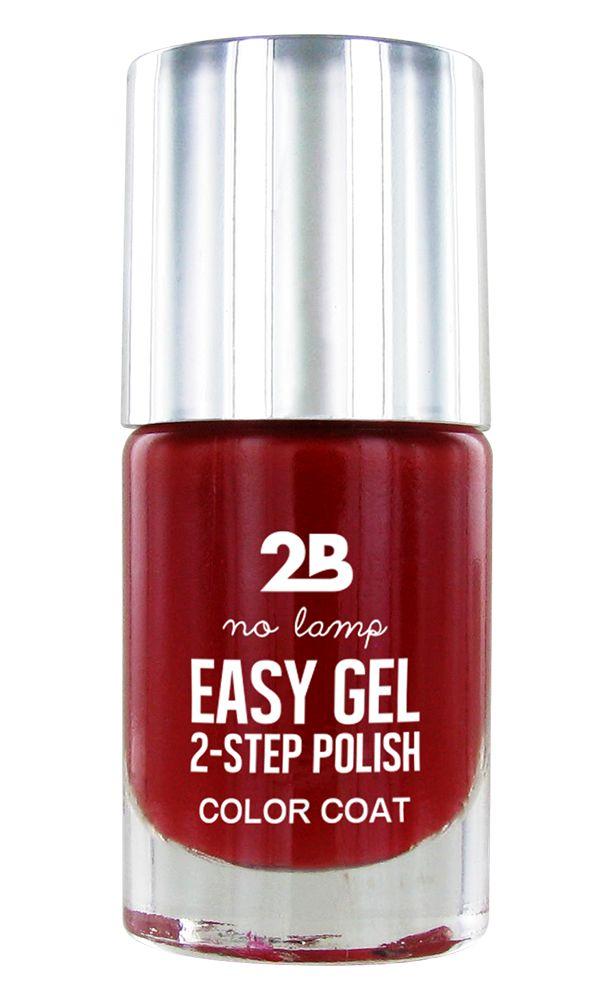 2B Cosmetics Easy gel 2 step polish - Be my Valentine