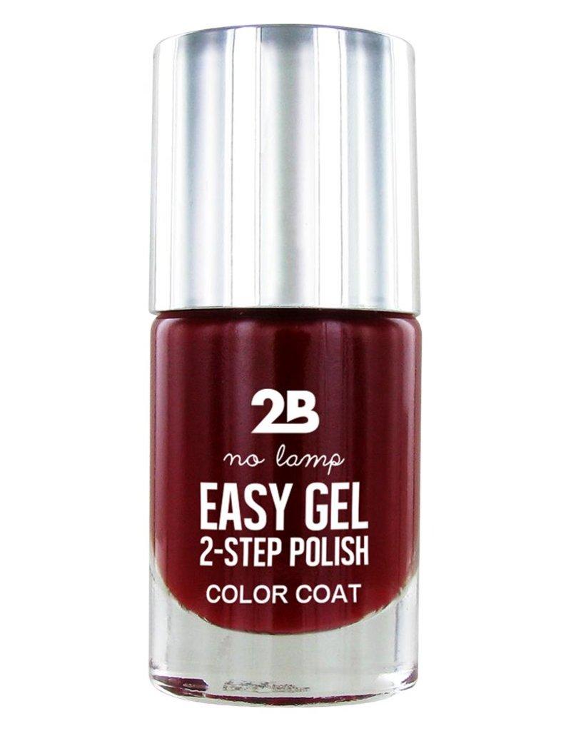 2B Cosmetics Easy gel 2 step polish - Charming Red