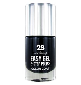 2B Cosmetics Easy gel 2 step polish - Black Currant