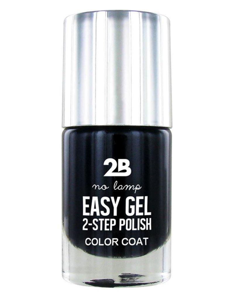 2B Cosmetics Easy gel 2 step polish - Black Currant