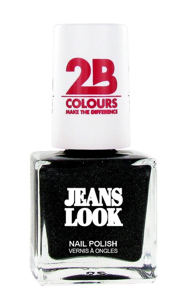 2B Cosmetics Nail polish Jeans Look 606 black