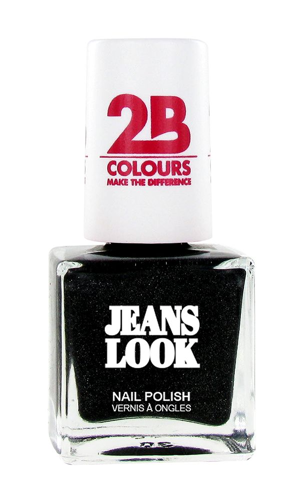 2B Cosmetics Vernis à ongles Jeans Look 606 black