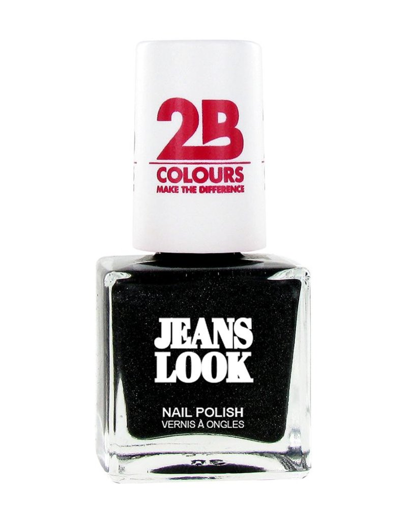 2B Cosmetics Nail polish Jeans Look 606 black