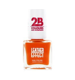 2B Cosmetics Vernis à ongles Leather Effect 616 Orange