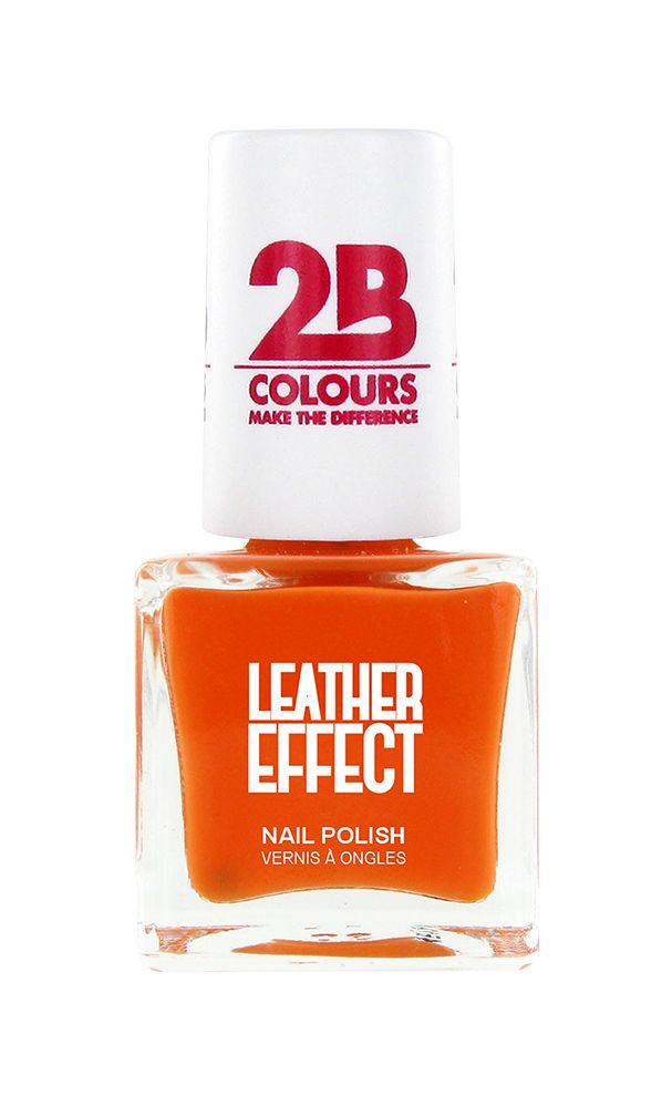 2B Cosmetics Nagellak Leather Effect 616 Orange