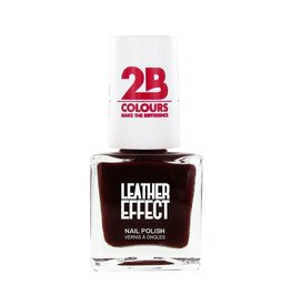 2B Cosmetics Nail polish Leather Effect 618 Bordeaux