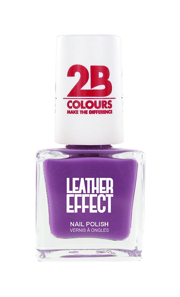 2B Cosmetics Nail polish Leather Effect 619 Violet