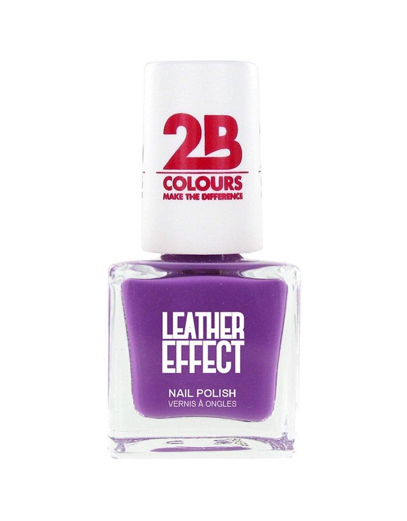 2B Cosmetics Nagellak Leather Effect 619 Violet
