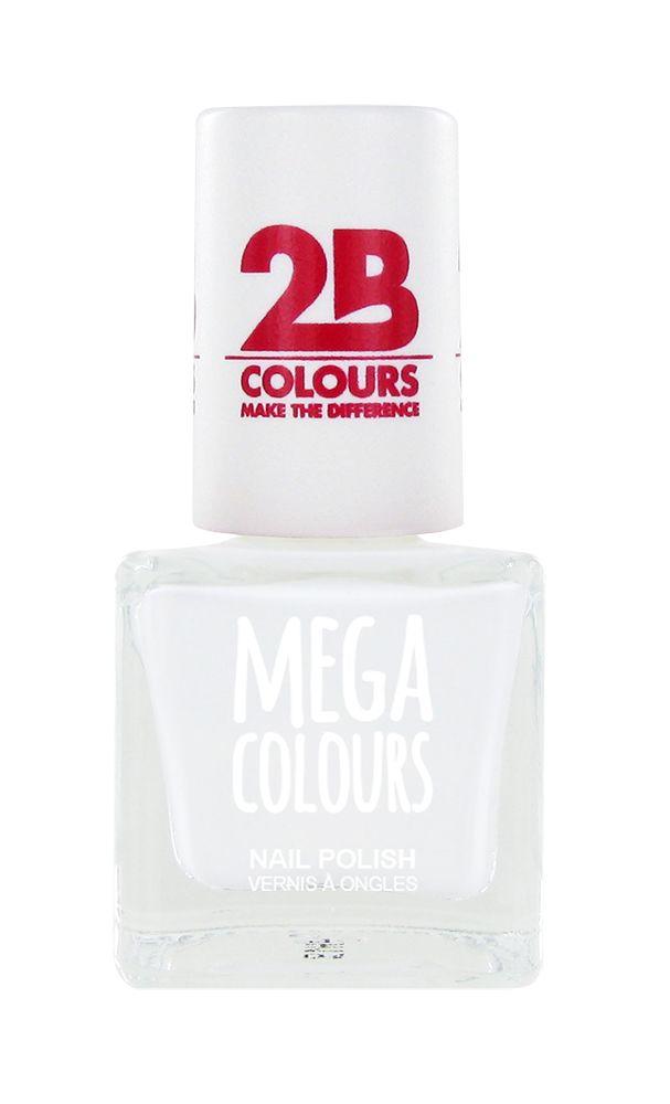 2B Cosmetics Vernis à ongles 623 blanc