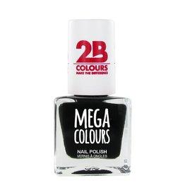 2B Cosmetics Vernis à ongles 624 noir