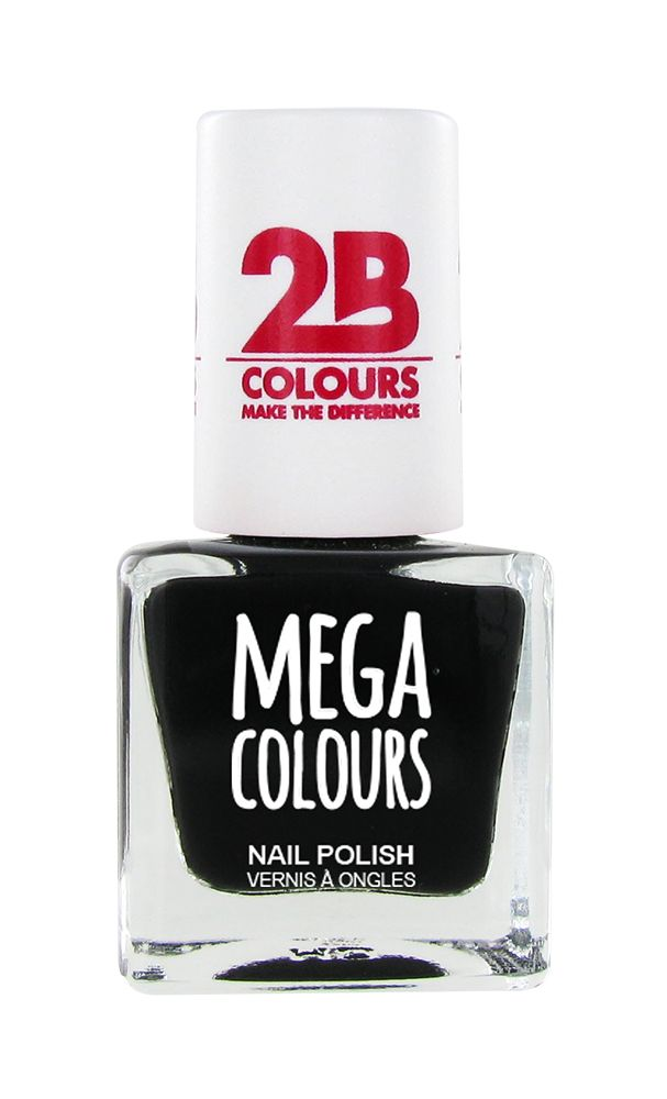 2B Cosmetics Nail polish 624 black