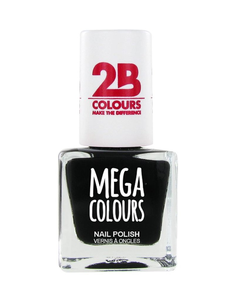 2B Cosmetics Nail polish 624 black