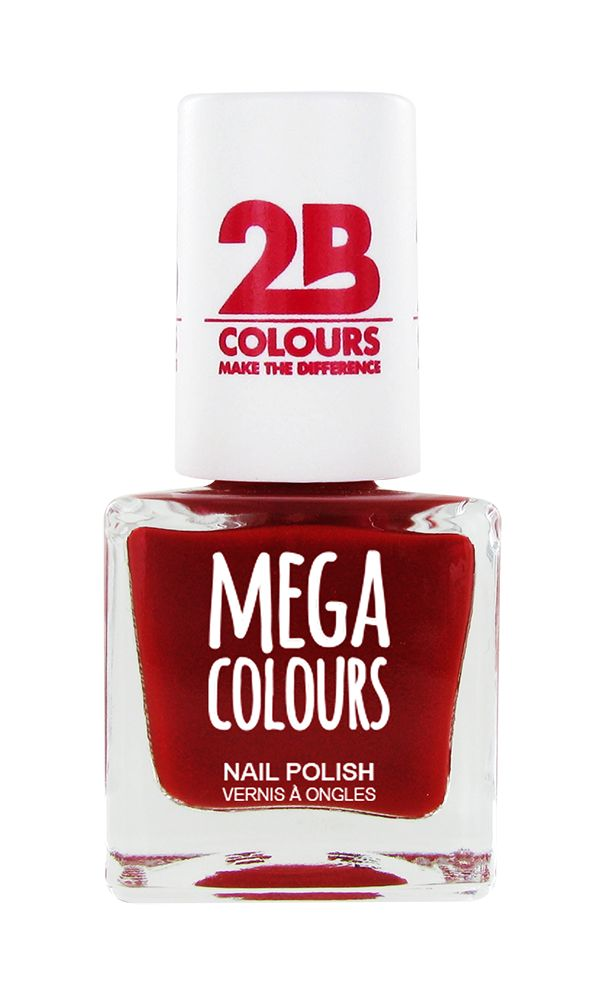 2B Cosmetics Nail polish 626 Deep Red Pearly