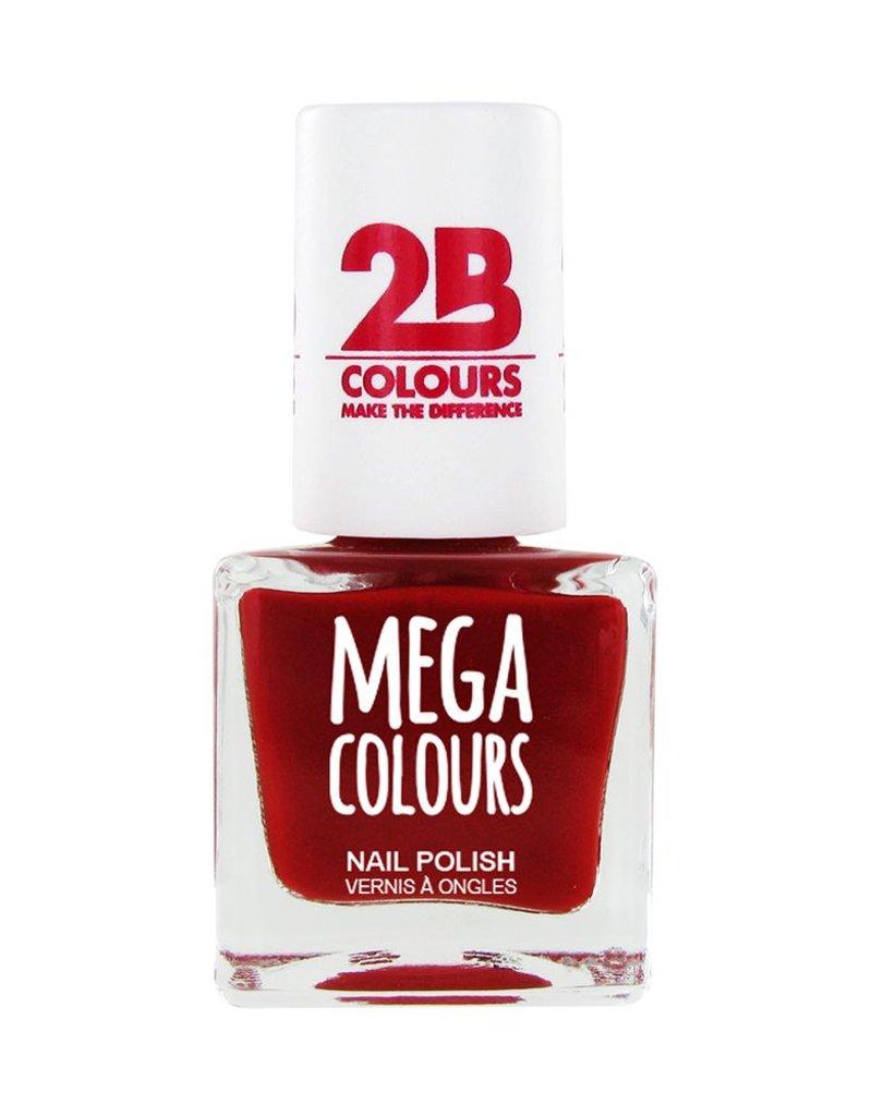 2B Cosmetics Nail polish 626 Deep Red Pearly