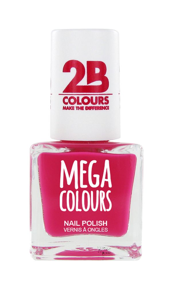2B Cosmetics Nail polish 627 Dark Pink