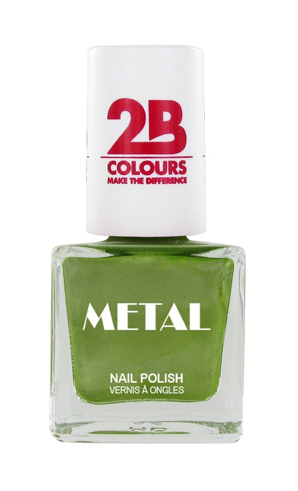 2B Cosmetics Nagellak Metal 646 Pistache