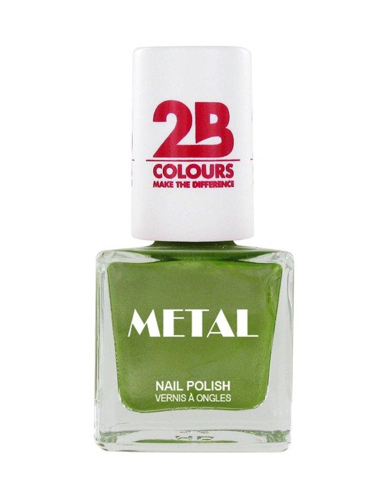 2B Cosmetics Vernis à ongles Metal 646 Pistache