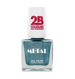 2B Cosmetics Vernis à ongles Metal 648 Emerald