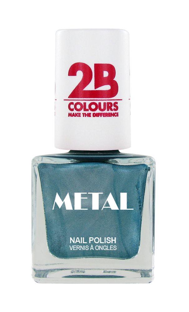 2B Cosmetics Nail polish Metal 648 Emerald
