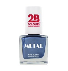 2B Cosmetics Vernis à ongles Metal 649 Ice Blue